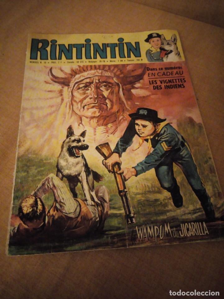 RIN TIN TIN & RUSTY LE WAMPUM DU JICARILLA 1970 Nº 10 ,2ª SERIE,FRANCES. (Tebeos y Comics - Marco - Rin-Tin-Tin)