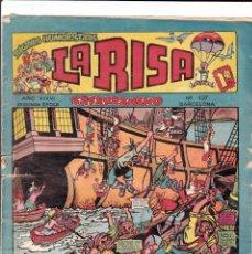 Tebeos: LA RISA - SEGUNDA EPOCA - NUMERO 107 - EDITORIAL MARCO -. Lote 197624195
