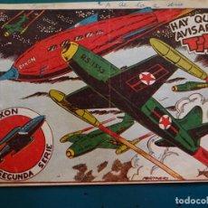 Tebeos: COMIC TEBEO. RED DIXON 2ª SERIE 1955 MARCO. RED DIXON Nº 41 HAY QUE AVISAR A LA TIERRA. Lote 198660993