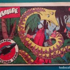 Tebeos: COMIC TEBEO. RED DIXON 2ª SERIE 1955 MARCO. RED DIXON Nº 40 EL DESASTRE. Lote 198661030