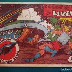 Tebeos: COMIC TEBEO. RED DIXON 2ª SERIE 1955 MARCO. RED DIXON Nº 38 PRISIONERO DE LUZEK. Lote 198661100