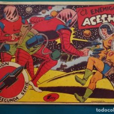 Tebeos: COMIC TEBEO. RED DIXON 2ª SERIE 1955 MARCO. RED DIXON Nº 32 EL ENEMIGO ACECHA. Lote 198661292