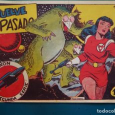 Tebeos: COMIC TEBEO. RED DIXON 2ª SERIE 1955 MARCO. RED DIXON Nº 30 VUELVE EL PASADO. Lote 198661343
