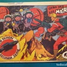 Tebeos: COMIC TEBEO. RED DIXON 2ª SERIE 1955 MARCO. RED DIXON Nº 28 OTRA VEZ LOS MACROONS. Lote 198661411
