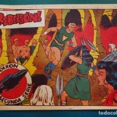 Tebeos: COMIC TEBEO. RED DIXON 2ª SERIE 1955 MARCO. RED DIXON Nº 25 REBELIÓN. Lote 198661523
