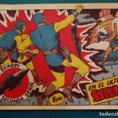 Tebeos: COMIC TEBEO. RED DIXON 2ª SERIE 1955 MARCO. RED DIXON Nº 22 EN EL ÚLTIMO SEGUNDO. Lote 198661612