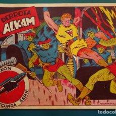 Tebeos: COMIC TEBEO. RED DIXON 2ª SERIE 1955 MARCO. RED DIXON Nº 18 LA DERROTA DE ALKAM. Lote 198661725