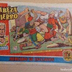 Tebeos: CABEZA DE HIERRO Nº 9. ORIGINAL. MERCADO DE ESCLAVOS. EDITA MARCO. Lote 199419725