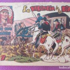 BDs: TEBEO LUCHA DE RAZAS PIELES ROJAS CONTRA BLANCOS LA HERENCIA DE LOS DIAZ Nº31 ED. MARCO. Lote 199448857
