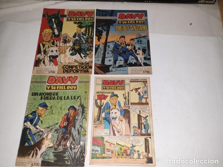 DAVY Y SU FIEL ROY ED..OLIVE MONTORIA N. 276 278 323 324 (Tebeos y Comics - Marco - Otros)