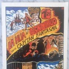Livros de Banda Desenhada: EL CAPITAN FANTASMA Nº 5 - LA HIJA DEL MONSTRUO. Lote 200292818
