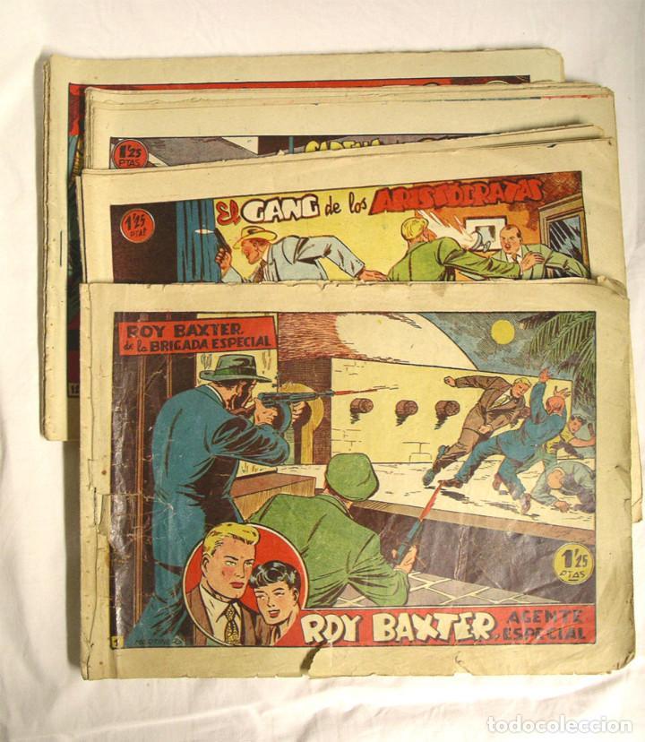 ROY BAXTER ORIGINALES AÑO 1957 EDIT MARCO, COMPLETA 20 NÚMEROS (Tebeos y Comics - Marco - Otros)
