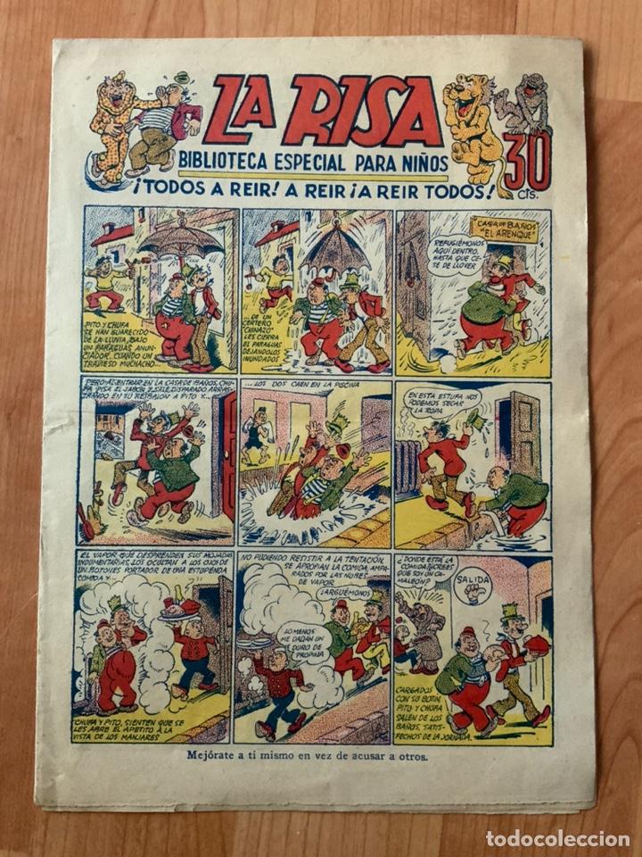 CÓMIC TEBEO LA RISA BIBLIOTECA ESPACIAL PARA NIÑOS, TODOS A REÍR! A REÍR! A REÍR TODOS! AÑOS 40'S (Tebeos y Comics - Marco - Otros)
