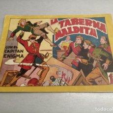 Livros de Banda Desenhada: EL CAPITÁN ENIGMA Nº 7: LA TABERNA MALTIDA / MARCO ORIGINAL. Lote 204082293