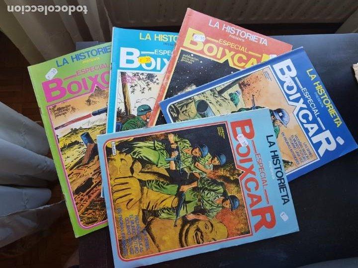 LOTE 5 TEBEOS / CÓMIC LA HISTORIETA 1-2-3-4-5 ESPECIAL BOIXCAR URSUS / MARCO 1980 GUERRA (Tebeos y Comics - Marco - Otros)
