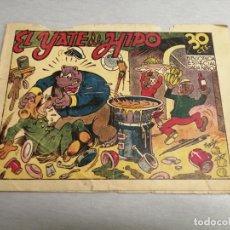 Tebeos: EL YATE DE HIPO - BIBLIOTECA ESPECIAL PARA NIÑOS / MARCO ORIGINAL. Lote 205142490