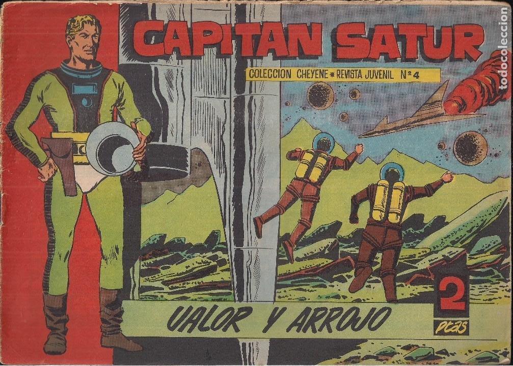 CAPITAN SATUR Nº 4. VALOR Y ARROJO (Tebeos y Comics - Marco - Otros)