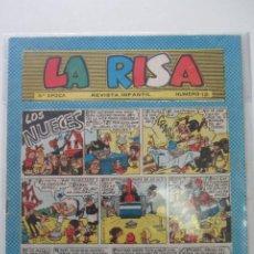 Tebeos: LA RISA Nº 12 TERCERA EPOCA (ED. MARCO) E2. Lote 205530171