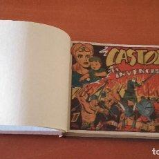 Tebeos: CASTOR EL INVENCIBLE EDITORIAL MARCO COMPLETA 48 Nº ORIGINAL EN UN TOMO. Lote 206908738