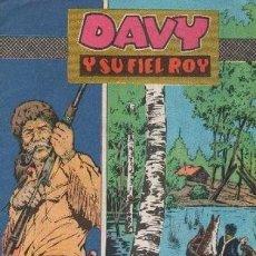 Tebeos: DAVY Y SU FIEL ROY- Nº 272 -MISTERIO EN EL LAGO- GRAN E- PÉREZ-1966-BUENO-DIFÍCIL-LEAN-3629. Lote 208971638