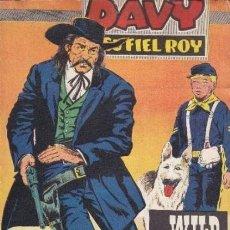 Tebeos: DAVY Y SU FIEL ROY- Nº 314 -WILD BILL HICKOK-1967-GRAN R. BEYLOC-BUENO-MUY DIFÍCIL-LEAN-3652. Lote 209112935