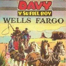 Tebeos: DAVY Y SU FIEL ROY- Nº 318 -WELLS FARGO-1967-GRAN RICARDO BEYLOC-BUENO-MUY DIFÍCIL-LEAN-3653. Lote 209113330