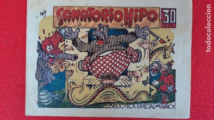 HIPO MONITO Y FIFI SANATORIO HIPO ORIGINAL CT1 (Tebeos y Comics - Marco - Hipo (Biblioteca especial))