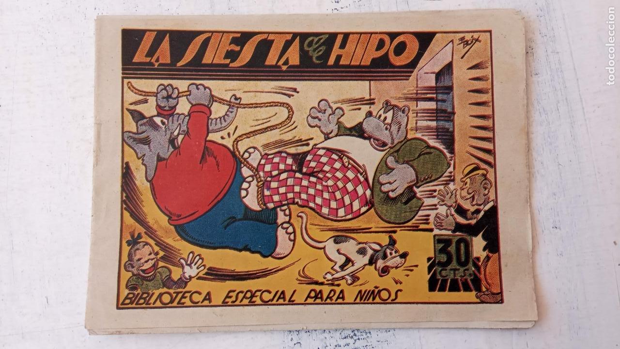 BIBLIOTECA ESPECIAL PARA NIÑOS, HIPO ORIGINAL - LA SIESTA DE HIPO, MUY BUEN ESTADO (Tebeos y Comics - Marco - Hipo (Biblioteca especial))