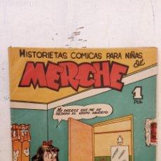 Tebeos: MERCHE, HISTORIETAS CÓMICAS PARA NIÑAS - 1950 - BEAUMONT, JULIO VIVAS, FERNÁNDEZ , J. RIZO. Lote 212092308