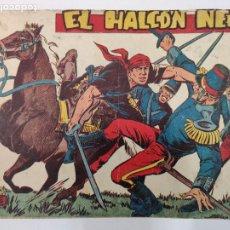 Tebeos: EL HALCÓN NEGRO - ORIGINAL - COLECCIÓN COMPLETA DE 28 EJEMPLARES - ENCUADERNADA - COL. CHEYENE,1959. Lote 212168105