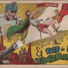 Tebeos: RED DIXON 1ª SERIE Nº 15: EL PAIS DE LAS TINIEBLAS. Lote 212987686