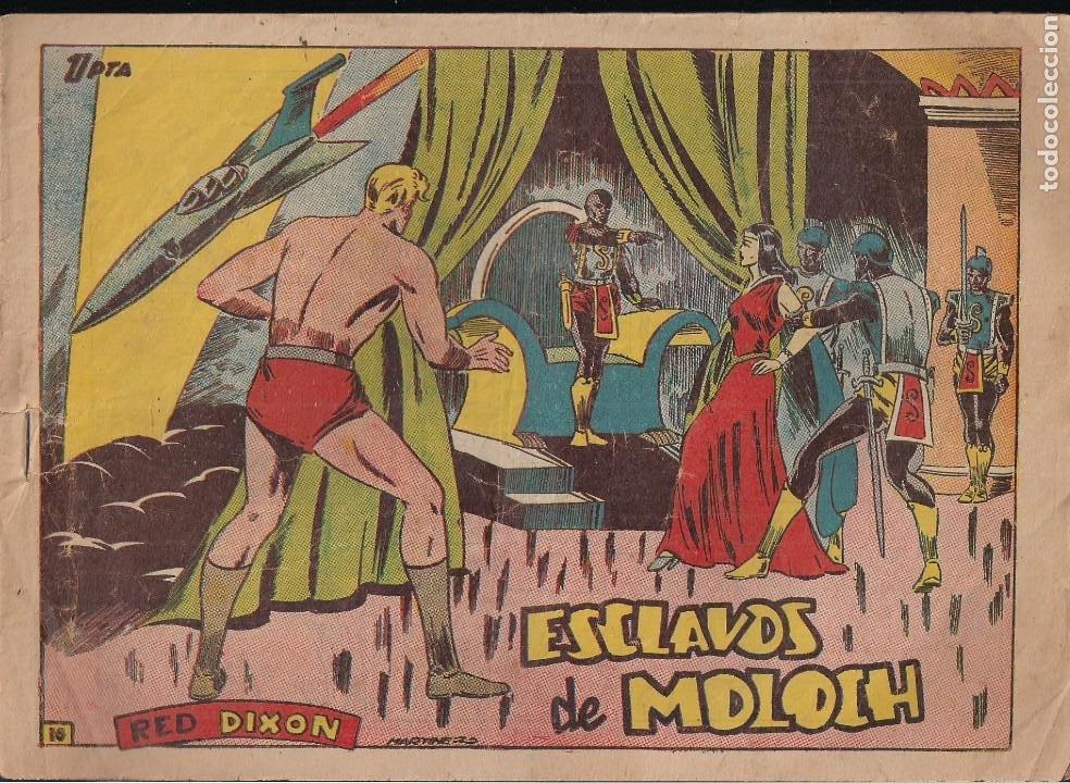 RED DIXON 1ª SERIE Nº 16: ESCLAVOS DE MOLOCH (Tebeos y Comics - Marco - Red Dixon)