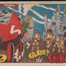 Tebeos: RED DIXON 1ª SERIE Nº 60: LA CIUDAD DE CRISTAL. Lote 212988338