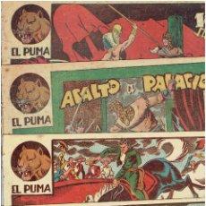 BDs: * EL PUMA * LOTE Nº 22-26-29-33-41 * 1ª SERIE EDITORIAL MARCO - ORIGINALES *. Lote 213120423