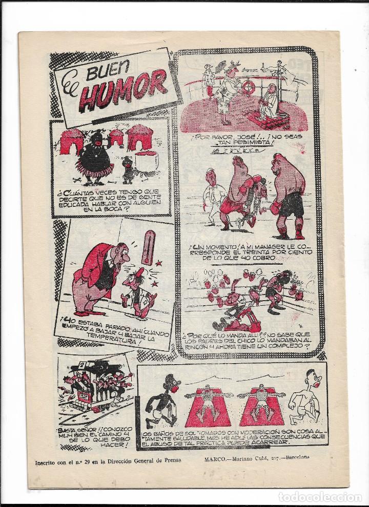 Tebeos: La Risa, Años 1952 - 1962 Lote de 91. Tebeos son Originales esta el Nº 1 y Nº 226. - Foto 4 - 213394252
