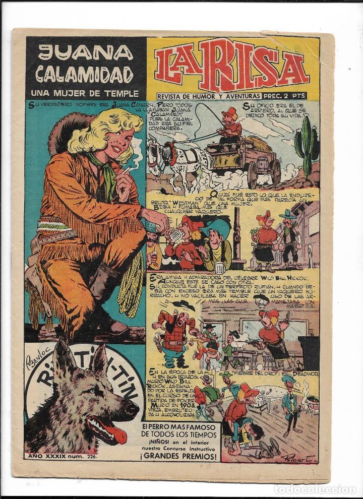 Tebeos: La Risa, Años 1952 - 1962 Lote de 91. Tebeos son Originales esta el Nº 1 y Nº 226. - Foto 5 - 213394252