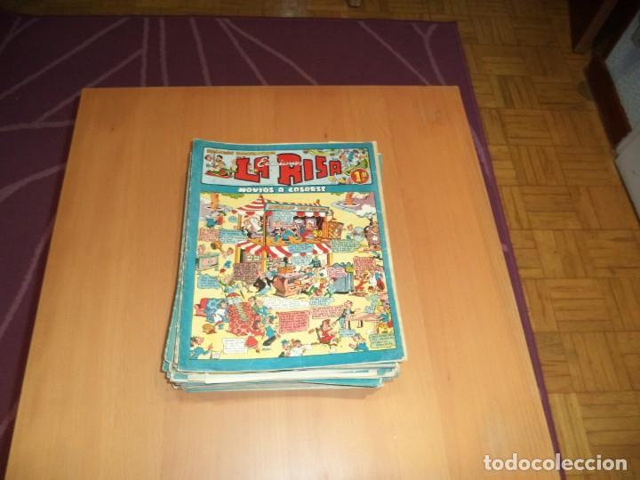 Tebeos: La Risa, Años 1952 - 1962 Lote de 91. Tebeos son Originales esta el Nº 1 y Nº 226. - Foto 7 - 213394252