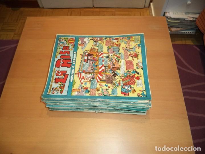 Tebeos: La Risa, Años 1952 - 1962 Lote de 91. Tebeos son Originales esta el Nº 1 y Nº 226. - Foto 8 - 213394252
