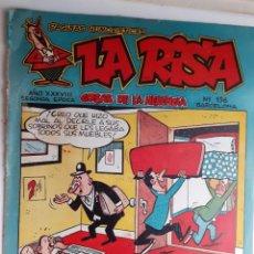 BDs: LA RISA - II ÉPOCA- Nº 156 -GRAN FRANCISCO IBÁÑEZ ANTES DE BRUGUERA-RAF-OSETE-1958-ÚNICO EN TC-3414. Lote 213556832
