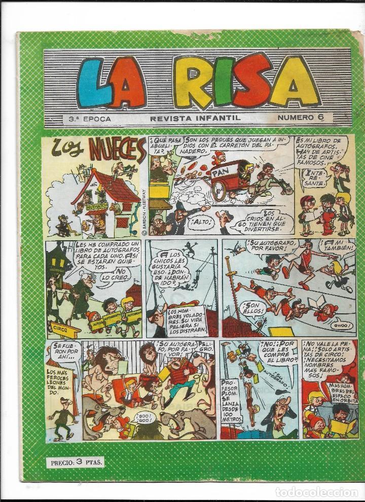 LA RISA, 3ª EPOCA AÑO 1964 LOTE DE 15. TEBEOS SON ORIGINALES SE VENDEN SUELTOS. (Tebeos y Comics - Marco - La Risa)