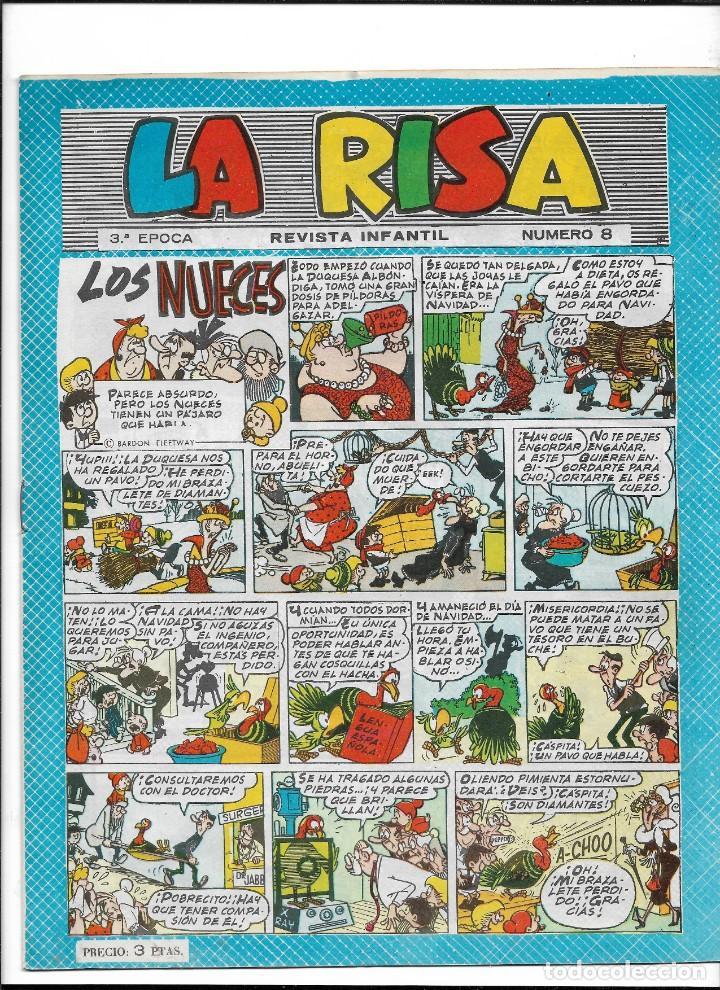 Tebeos: La Risa, 3ª Epoca Año 1964 Lote de 15. Tebeos son Originales se venden sueltos. - Foto 3 - 214012440