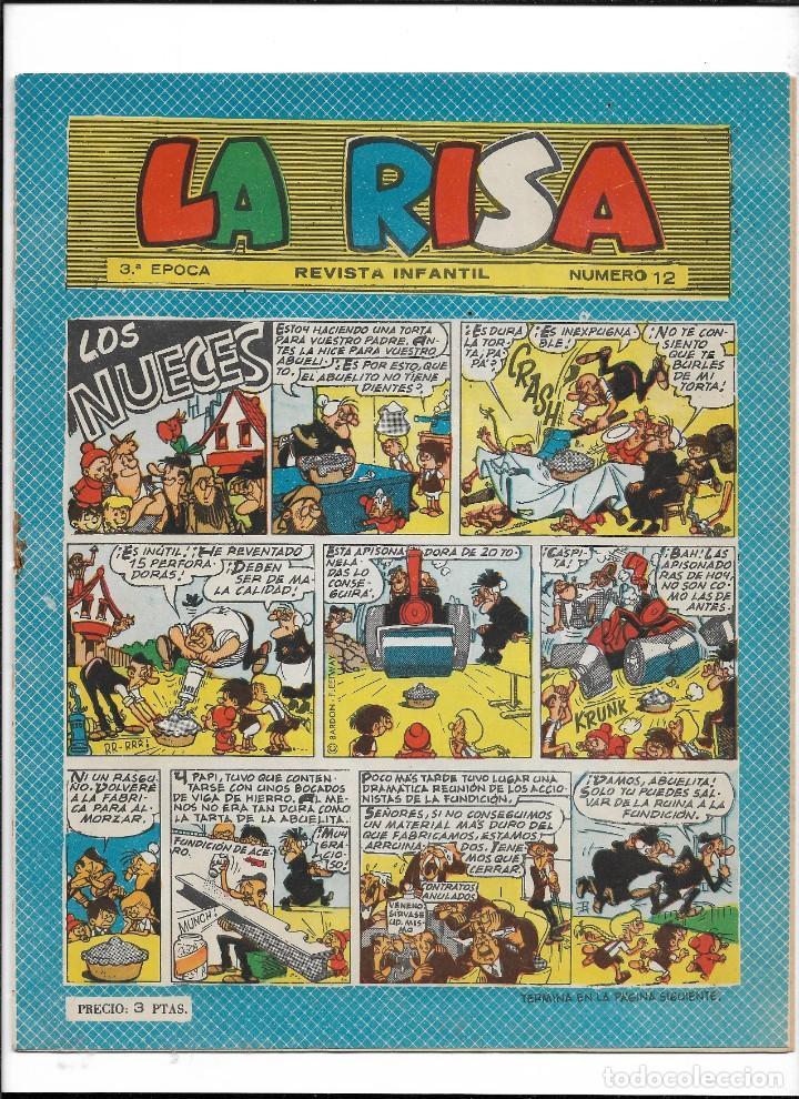 Tebeos: La Risa, 3ª Epoca Año 1964 Lote de 15. Tebeos son Originales se venden sueltos. - Foto 5 - 214012440