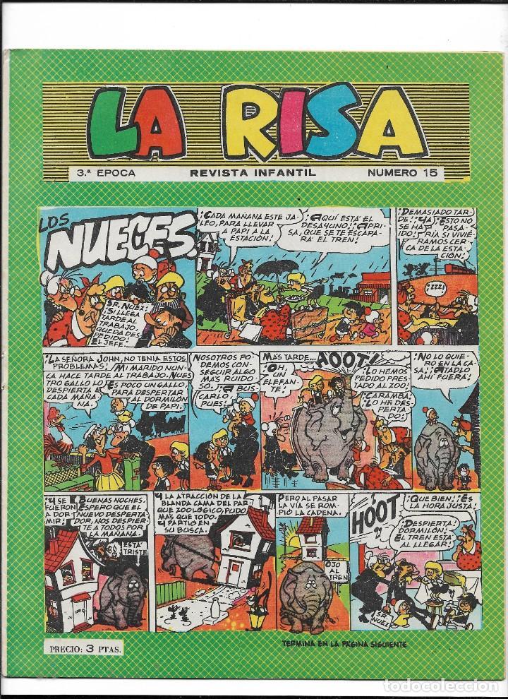 Tebeos: La Risa, 3ª Epoca Año 1964 Lote de 15. Tebeos son Originales se venden sueltos. - Foto 6 - 214012440