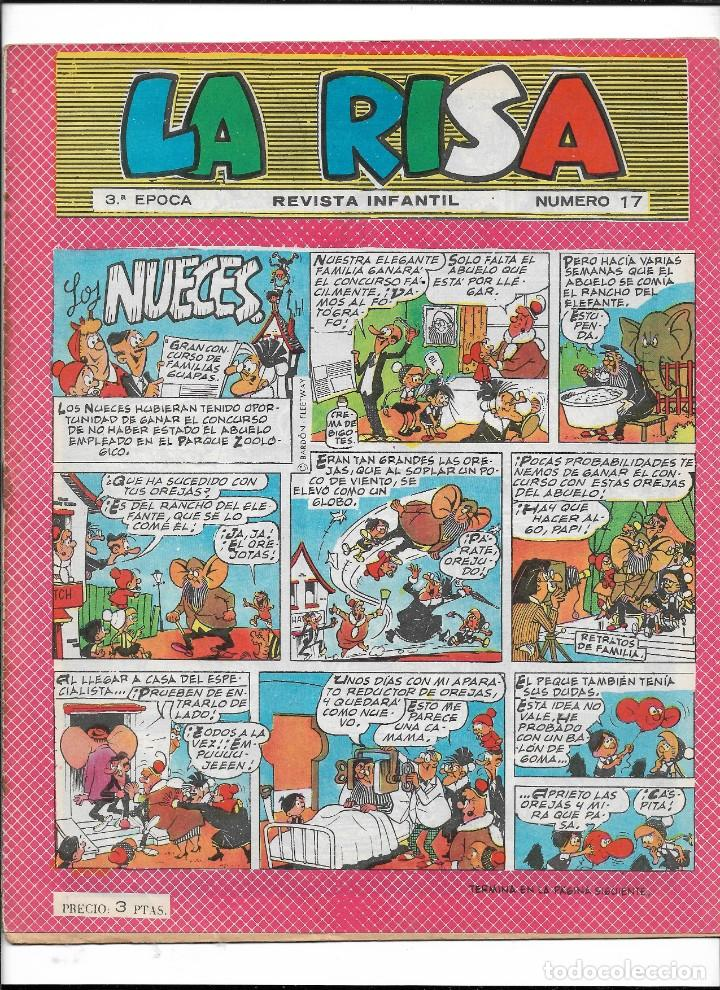 Tebeos: La Risa, 3ª Epoca Año 1964 Lote de 15. Tebeos son Originales se venden sueltos. - Foto 7 - 214012440
