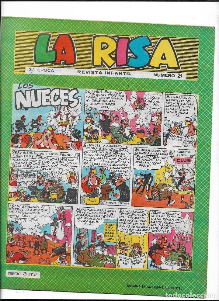 Tebeos: La Risa, 3ª Epoca Año 1964 Lote de 15. Tebeos son Originales se venden sueltos. - Foto 9 - 214012440