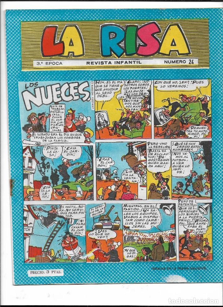 Tebeos: La Risa, 3ª Epoca Año 1964 Lote de 15. Tebeos son Originales se venden sueltos. - Foto 12 - 214012440