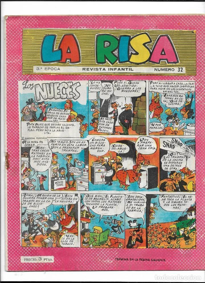 Tebeos: La Risa, 3ª Epoca Año 1964 Lote de 15. Tebeos son Originales se venden sueltos. - Foto 15 - 214012440