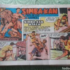 Tebeos: TEBEOS-COMICS GOYO - SIMBA KAN 11 - ORIGINAL - MARCO 1959 - AA98. Lote 214190292