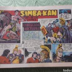 Tebeos: TEBEOS-COMICS GOYO - SIMBA KAN 13 - MARCO 1959 - ORIGINAL - AA98. Lote 214191881