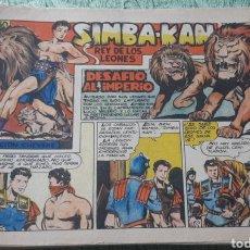 Tebeos: TEBEOS-COMICS GOYO - SIMBA KAN 19 - MARCO 1959 - ORIGINAL - AA98. Lote 214195796